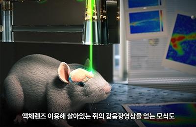 기계 김동성・창의IT 김철홍 교수 공동연구팀, 초점을 자유롭게 조절하는 액체렌즈 개발